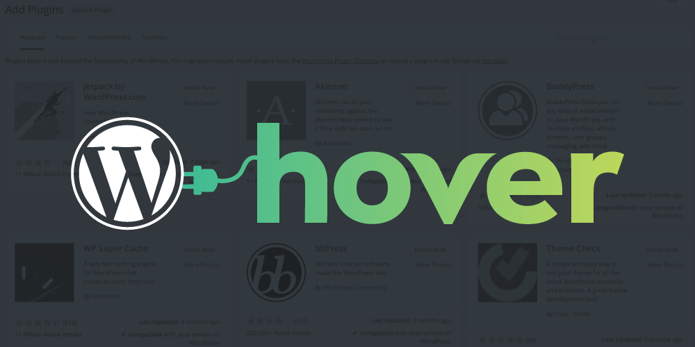 hover wordpress plugins