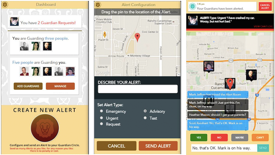 Guardian Circle Screenshots