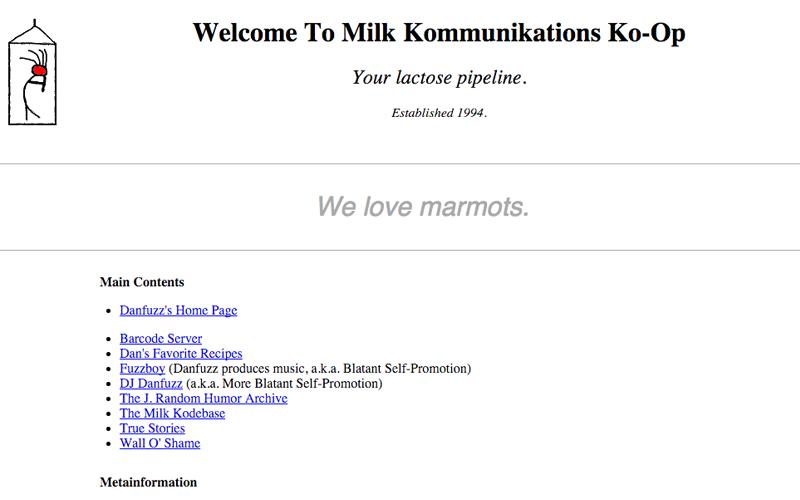 milk dot com