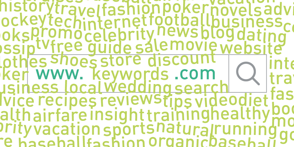 domain name keywords seo