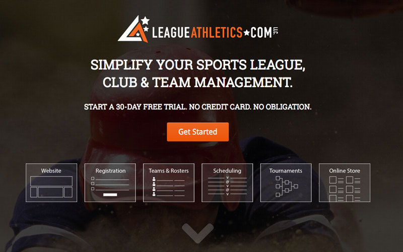LeagueAthletics screenshot