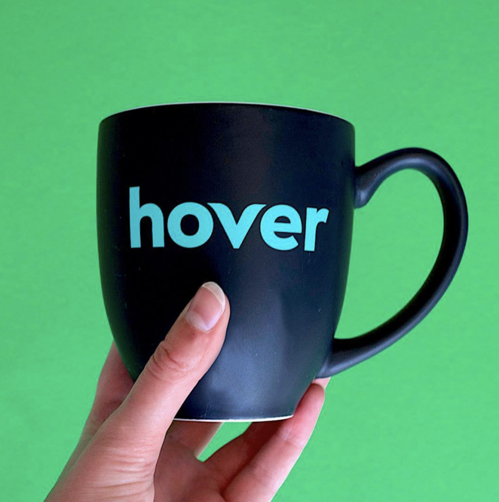 Hover mug